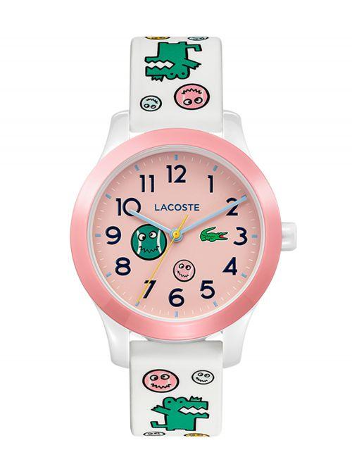 שעון יד LACOSTE לילדים עם רצועת סיליקון דגם 2030031