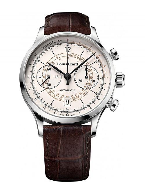 שעון יוקרה שווייצרי LOUIS ERARD לגבר עם מנגנון אוטומטי