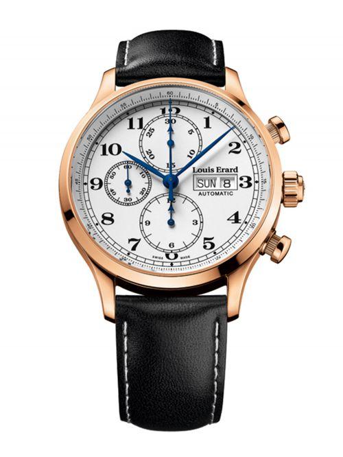 שעון יוקרה שוויצרי LOUIS ERARD לגבר עם מנגנון אוטומטי