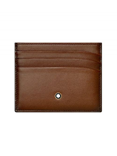 נרתיק כרטיסי אשראי MONTBLANC סדרה MEISTERSTUCK דגם 113173
