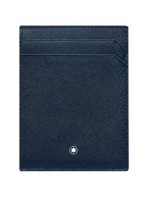 נרתיק כרטיסי אשראי MONTBLANC סדרה SARTORIAL דגם 128596