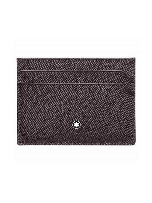 נרתיק כרטיסי אשראי MONTBLANC סדרה SARTORIAL דגם 128597