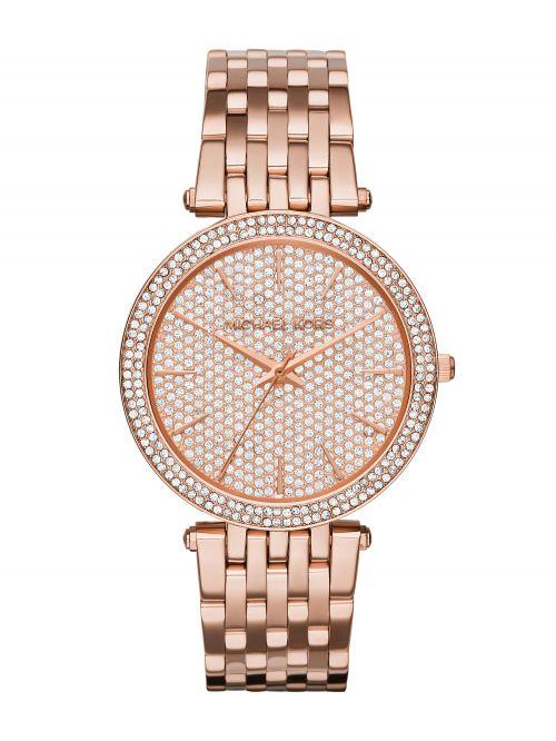 שעון יד MICHAEL KORS לאישה  זהב אדום דגם MK3439