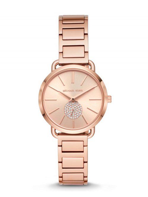 שעון יד MICHAEL KORS לאישה  זהב אדום דגם MK4331