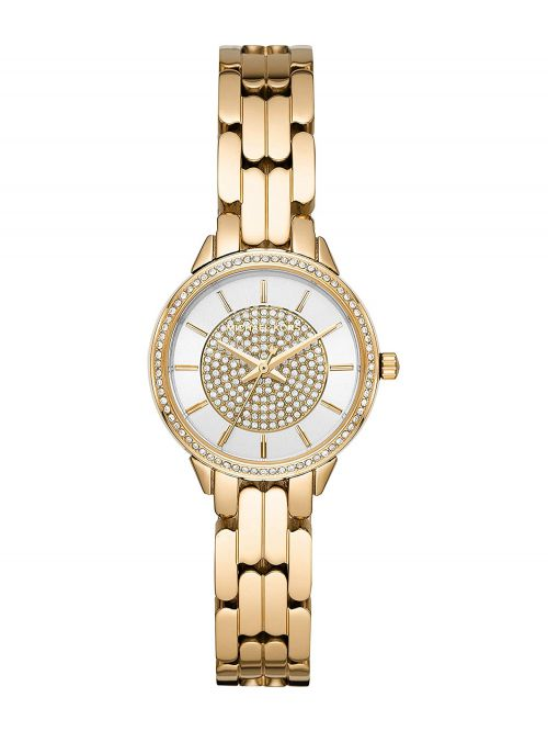 שעון יד MICHAEL KORS לאישה עם רצועת מתכת בצבע זהב דגם MK4412