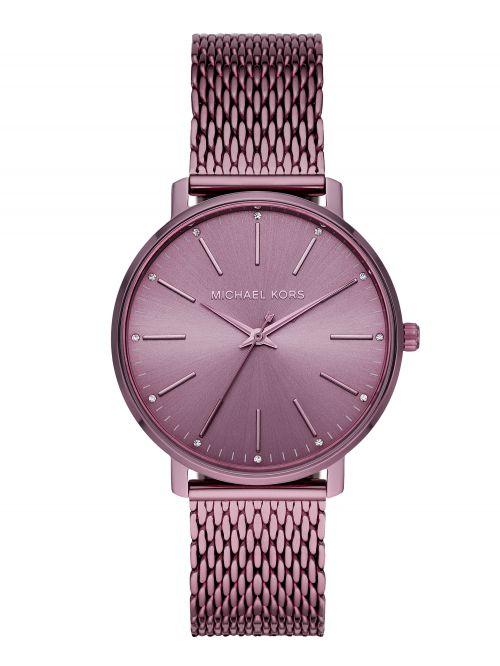 שעון יד MICHAEL KORS לאישה סגול קולקציית PYPER דגם MK4524