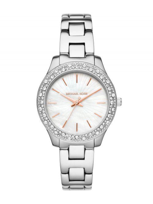 שעון יד MICHAEL KORS לאישה  כסוף דגם MK4556