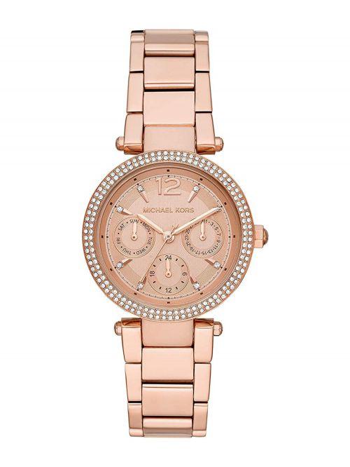 שעון יד MICHAEL KORS לאישה  זהב אדום דגם MK6352