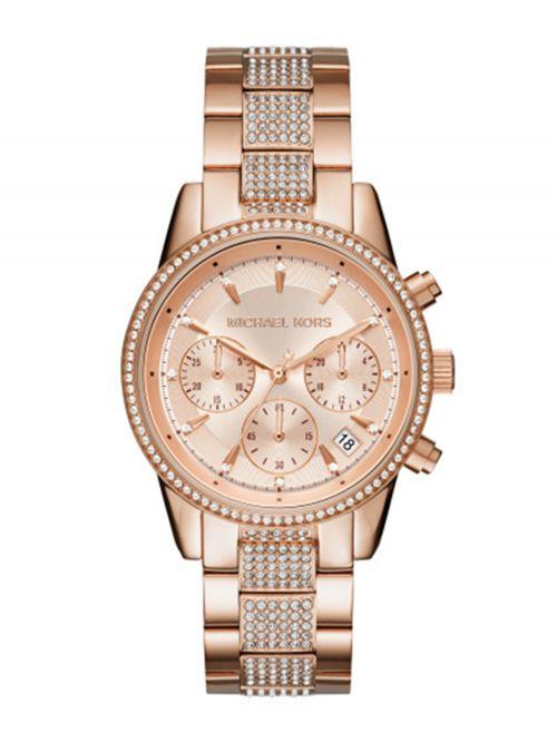 שעון יד נשים MICHAEL KORS רוז גולד דגם MK6485