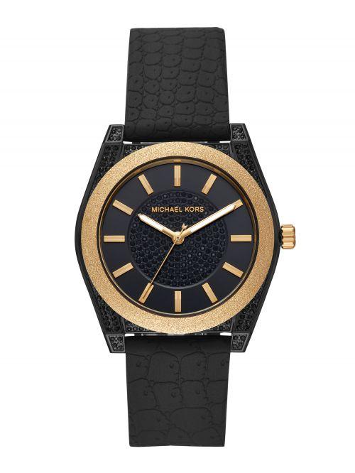 שעון יד MICHAEL KORS לאישה עם רצועת סיליקון דגם MK6709