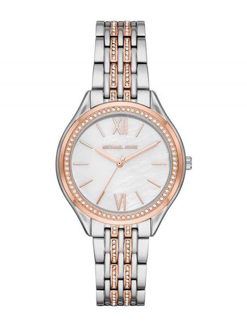 שעון יד MICHAEL KORS לאישה עם רצועת מתכת דגם MK7077