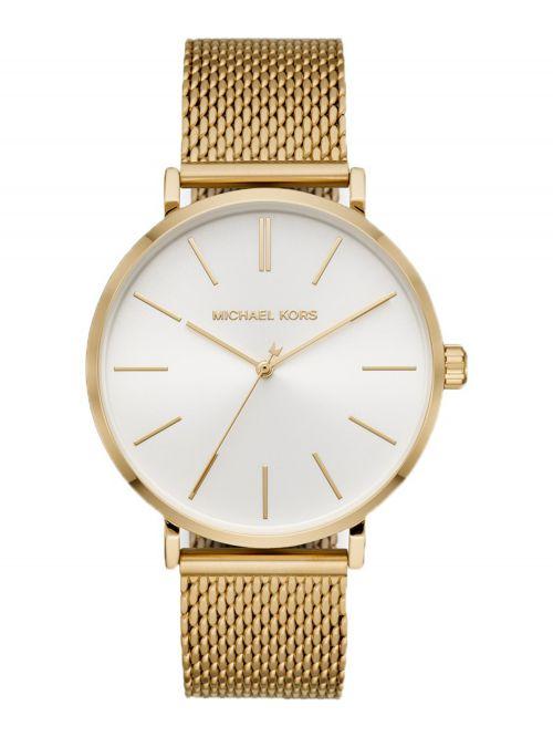שעון יד MICHAEL KORS לאישה עם רצועת מתכת בצבע זהב דגם MK7150