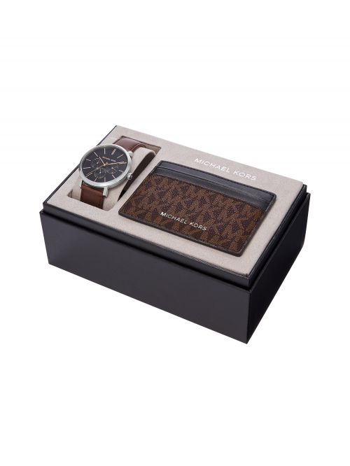 סט שעון וארנק MICHAEL KORS לגבר דגם MK8843