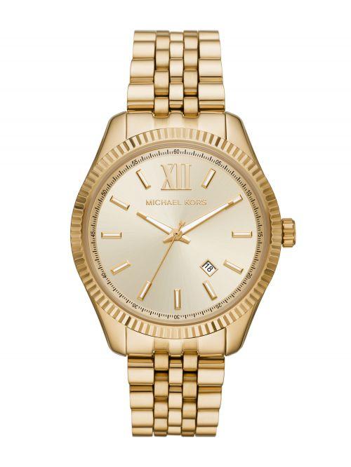 שעון יד MICHAEL KORS לגבר קולקציית LEXINGTON עם רצועת מתכת דגם MK8857