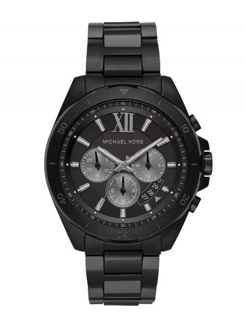 שעון יד MICHAEL KORS לגבר קולקציית BRECKEN עם רצועת מתכת דגם MK8858