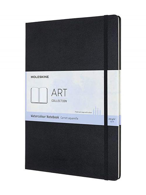 מחברת ציור לצבעי מים A4 מבית MOLESKIN עם 60 דפים