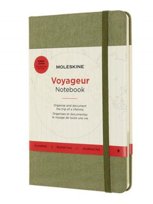 מחברת MOLESKINE קולקציית VOYAGEUR