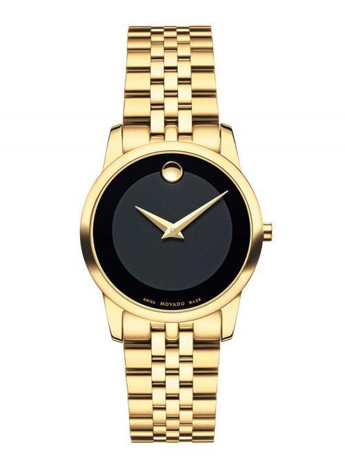 שעון יד MOVADO לאישה קולקציית MUSEUM דגם 0607005
