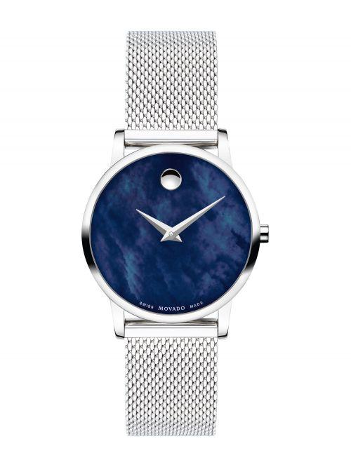 שעון יד MOVADO לאישה קולקציית MUSEUM דגם 0607425
