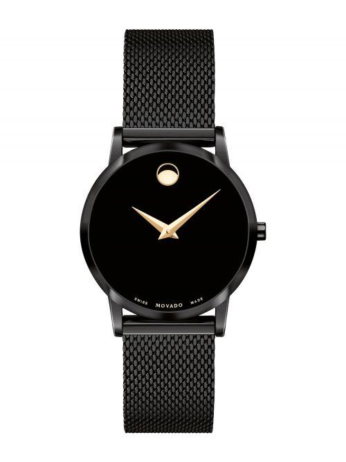 שעון יוקרה שוויצרי MOVADO לאישה קולקציית MUSEUM דגם 0607493