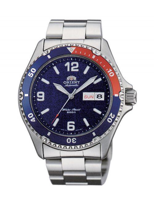 שעון צלילה ORIENT אוטומטי לגבר קולקציית DIVER דגם FAA02009D9