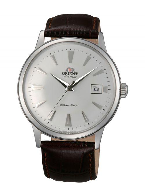 שעון יד אוטומטי ORIENT לגבר עם רצועת עור דגם FAC00005W0