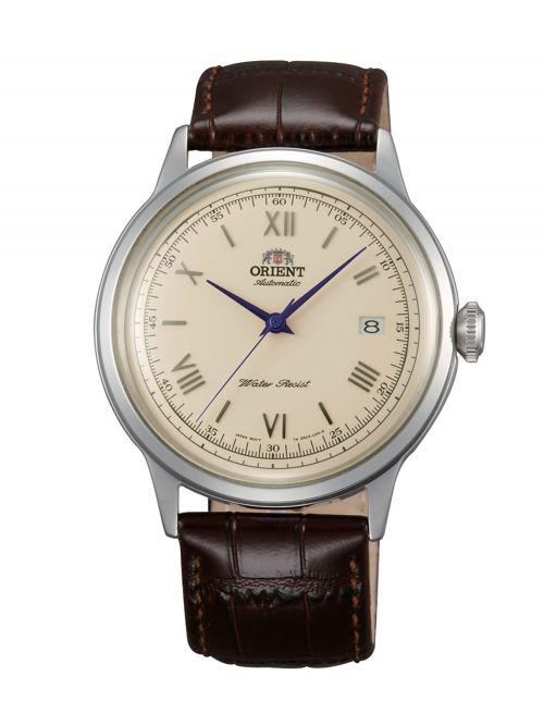 שעון יד ORIENT אוטומטי לגבר עם רצועת עור דגם FAC00009N0