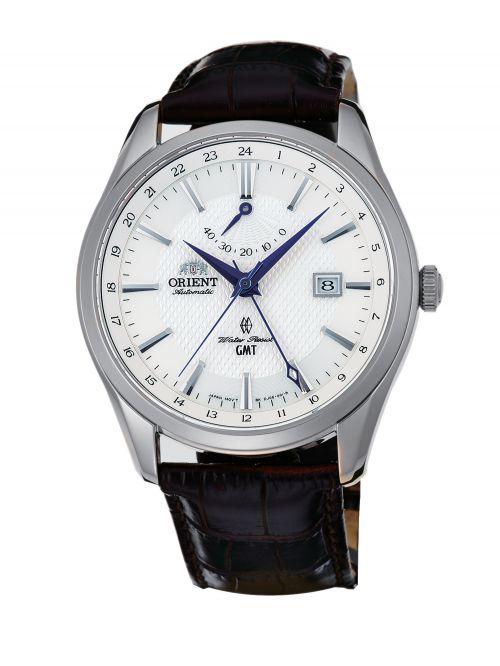 שעון יד ORIENT אוטומטי לגבר עם רצועת עור דגם FDJ05003W0