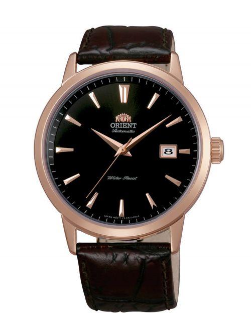 שעון יד ORIENT אוטומטי לגבר עם רצועת עור דגם FER27002B0