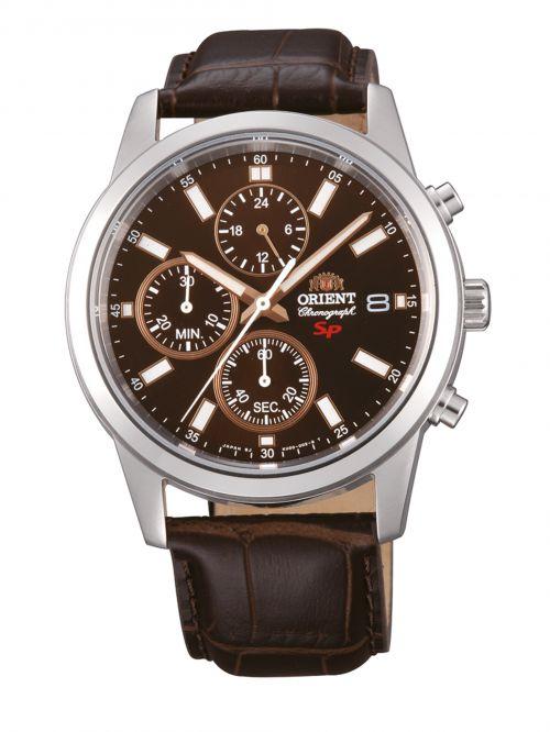 שעון לגבר ORIENT רצועת עור דגם FKU00005T0