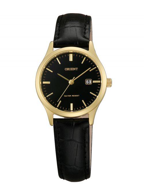 שעון יד ORIENT לאישה עם רצועת עור דגם FSZ3N001B0