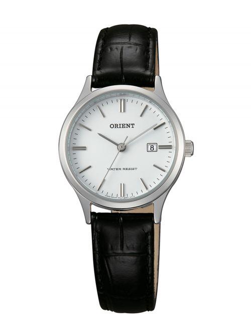 שעון יד ORIENT לאישה עם רצועת עור דגם FSZ3N004W0