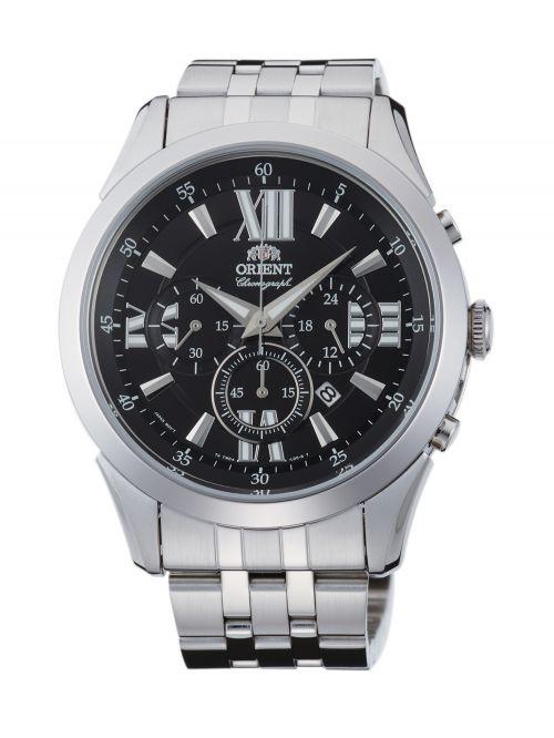 שעון יד ORIENT לגבר עם רצועת מתכת דגם TW04003B0
