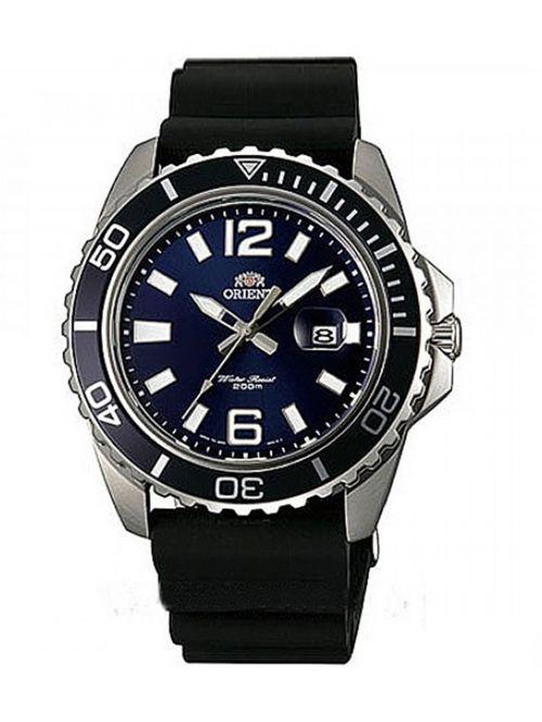 שעון צלילה ORIENT לגבר עם רצועת סיליקון דגם FUNE3005D0