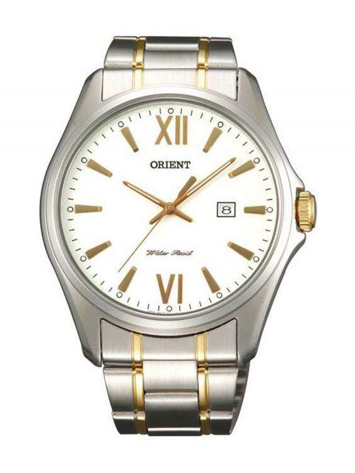 שעון יד ORIENT לגבר עם רצועת מתכת דגם FUNF2004W0