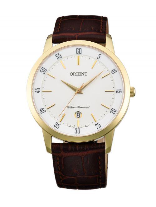 שעון יד ORIENT לאישה עם רצועת עור דגם FUNG5002W0