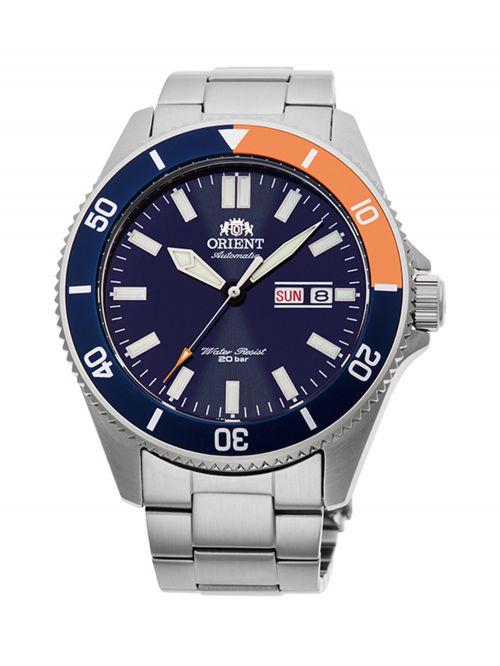 שעון צלילה ORIENT אוטומטי לגבר עם רצועת מתכת דגם AA0913L19B