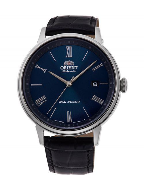 שעון יד ORIENT אוטומטי לגבר עם רצועת עור דגם RA-AC0J05L10B
