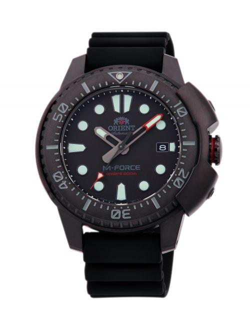 שעון צלילה אוטומטי ORIENT לגבר קולקציית M-FORCE דגם RA-AC0L03B00B