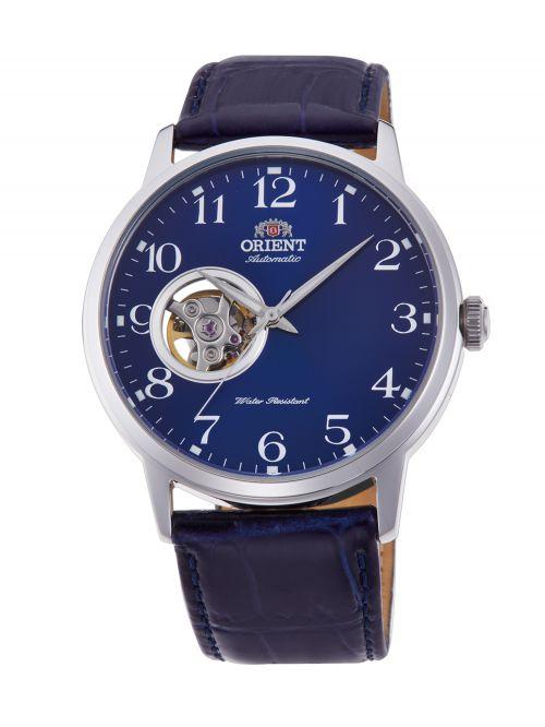 שעון ORIENT אוטומטי לגבר עם רצועת עור דגם RA-AG0011L