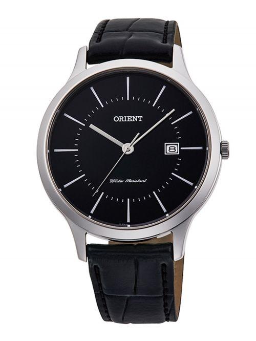 שעון יד לגבר ORIENT מקולקציית COMTEMPORARY  רצועת עור דגם QD0004B