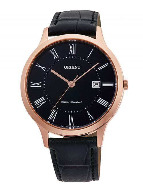 שעון יד קוורץ לגבר מבית Orient קולקציית Contemporary דגם QD0007B10B