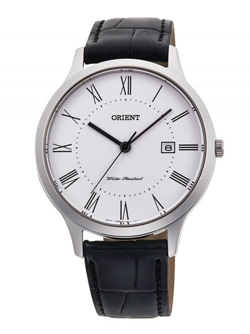 שעון יד קוורץ לגבר מבית Orient קולקציית Contemporary דגם QD0008S10B