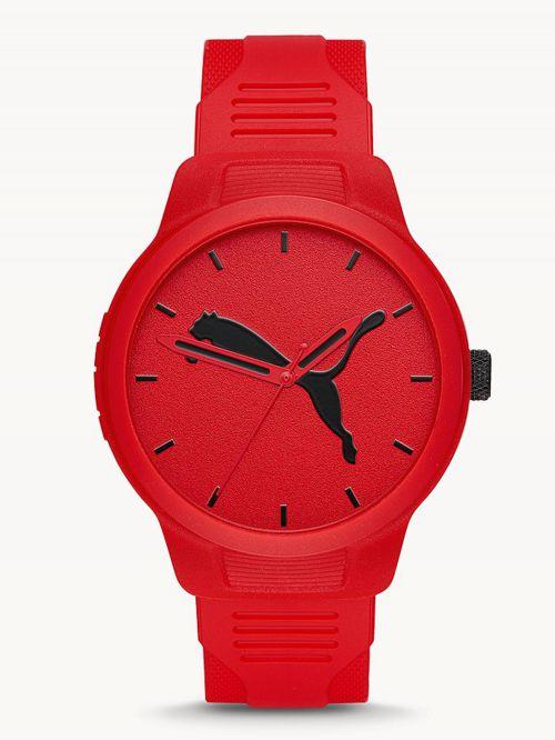 שעון לגבר PUMA בצבע אדום   דגם P5003