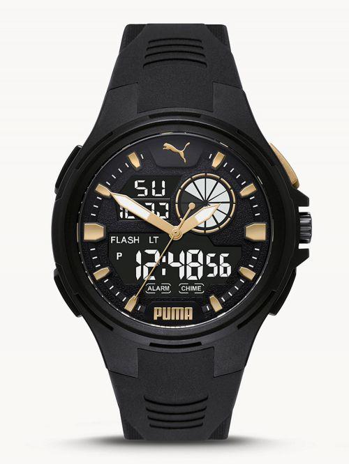 שעון  דיגיטלי לגבר PUMA בצבע  שחור דגם P5063