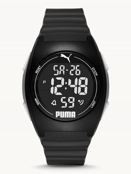 שעון דיגיטלי  לגבר PUMA בצבע  שחור דגם P6015