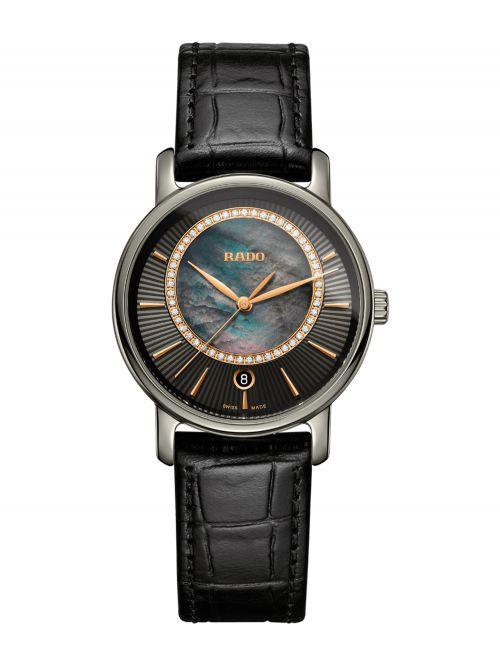 שעון יוקרה שוויצרי RADO לאישה קולקציית DIAMASTER דגם R14064955