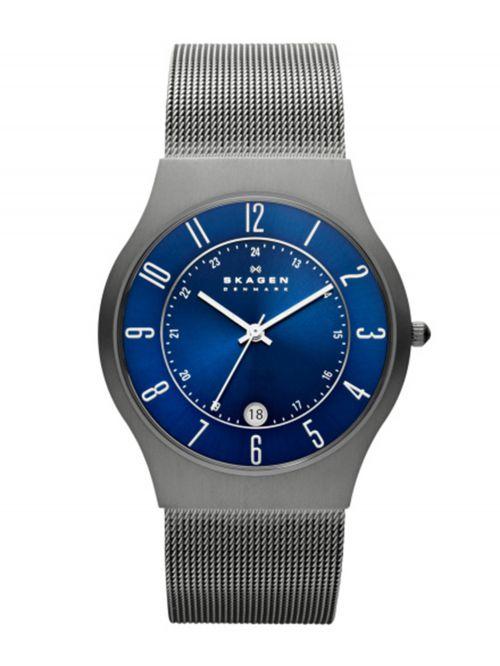 שעון יד SKAGEN לגבר קולקציית GRENEN דגם 233XLTTN