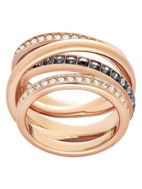 טבעת SWAROVSKI קולקציית DYNAMIC מידה 50