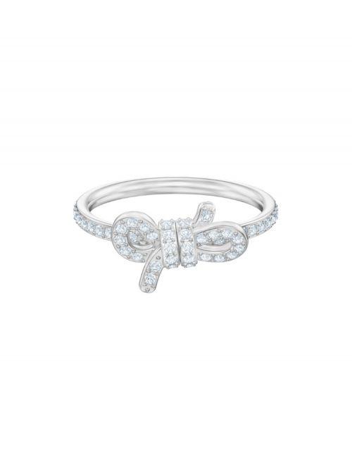 טבעת SWAROVSKI קולקציית LIFELONG BOW מידה 50